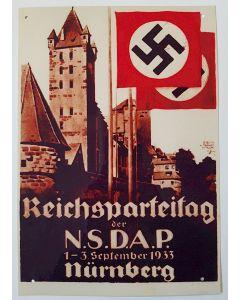 REICHSPARTEITAG DER N.S.D.A.P METAL SIGN