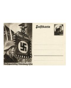 REICHSPARTEITAG FLUENBERG 1934 POSTCARD