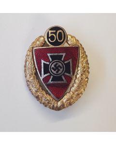 RKB 50 YEAR SERVICE PIN ENAMEL