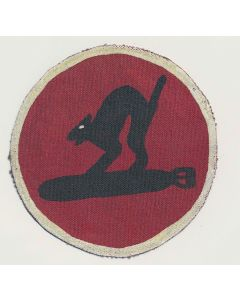 RKO MOVIE STUDIO PATCH USMC 8TH AAF, 96TH BG, 413TH B.S. PATCH