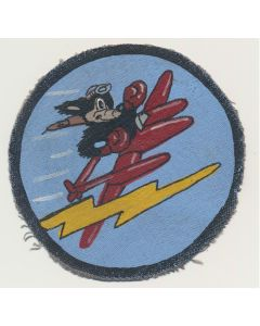RKO MOVIE STUDIO PATCH USMC 9TH AAF, 474TH FG, 428TH B.S. PATCH
