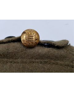 ROYAL CANADIAN ORDNANCE CORPS RCOC BRASS UNIFORM BUTTONS W SCULLY