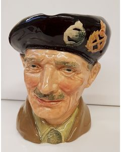"ROYAL DOULTON ""MONTY"" BRITISH FIELD MARSHAL B. MONTGAMERY TOBY JUG"