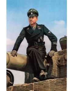MICHAEL WITTMANN PANZER ACE VINTAGE METAL SIGN