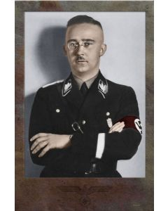 HEINRICH HIMMLER SS LEADER VINTAGE METAL SIGN