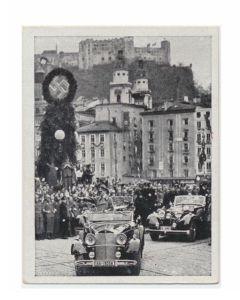 SALZBURG GRUTZ DEN SCHÖPFER GROßDEUTSCHLANDS -CIGARETTE CARD