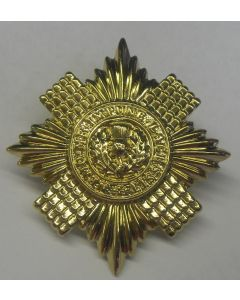 BRITISH Scots guard cap eagle