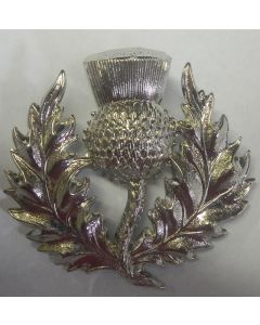 SCOTTISH RESERVE BATTALION CAP BADGE WW2