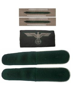GERMAN HEER EARLY WAR INSIGNIA SET ww2