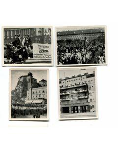 SO FIEHT DER EINFT ZERFCHOFFENE GOETHEHOF IM APRIL 1938 AUS - GROUP OF 4