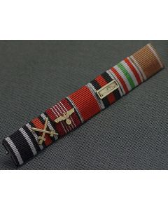 GERMAN SS-GENERAL KARL WOLF MEDAL RIBBON BAR