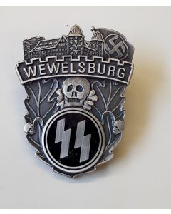 SS-ORDER CASTLE CASTLE WEWELSBURG VISITATION BADGE