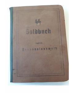 SS SOLDBUCH OTTO NEUMANN SS PANZER ERSATZ REGIMENT