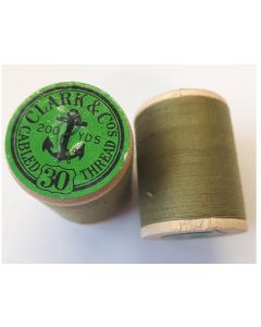 THE CANADIAN ANCHOR SPOOL COTTON CLARK & Cos CABLED THREAD N. 30