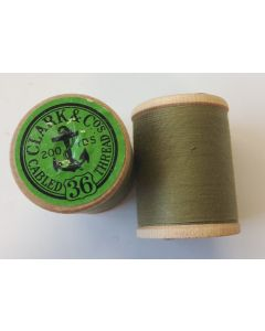 THE CANADIAN ANCHOR SPOOL COTTON CLARK & Cos CABLED THREAD No. 36