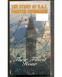 THE STORY OF R.A.F. FIGHTER COMMAND THEIR FINEST HOUR- VHS
