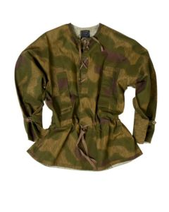 GERMAN  WWII TAN WATER CAMO SNIPER ANORAK