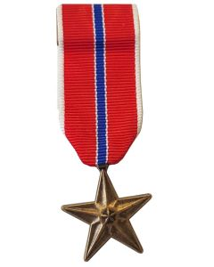 U.S. BRONZE STAR MINIATURE MEDAL