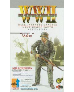 UDO GERMAN DRAGON ACTION FIGURE WW11 GRENADIER