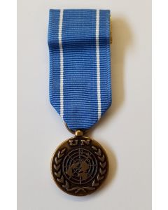 UNITED NATIONS OBSERVER MINIATURE MEDAL