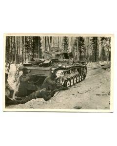 "UNSERE WAFFEN SS ""RECONNAISSANCE PATROL IN A KARELIAN FOREST"