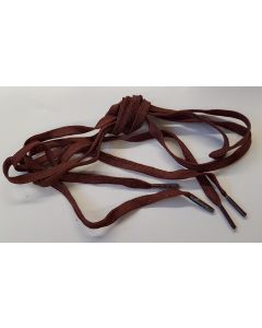US BROWN NYLON SERVICE SHOE LACES 40""