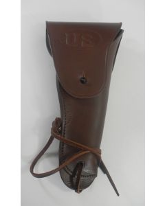 AMERICAN COLT .45 BROWN LEATHER HOLSTER