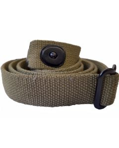 WWii US M1 CARBINE GREEN WEBBING SLING