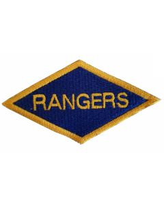 US WW2 ARMY RANGERS DIAMOND PATCH
