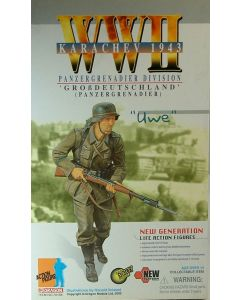 GERMAN DRAGON ACTION FIGURE WW11 KARACHEV 1943 UWE