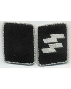 SS OFFICER RUNIC, RUNES COLLAR TABS
