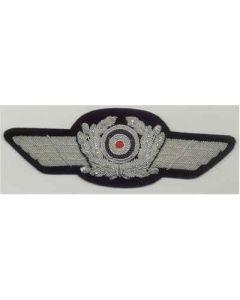 GERMAN  LUFTWAFFE OFFICERS CAP WREATH CAP INSIGNIA