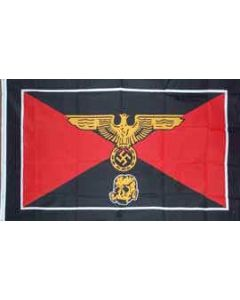 WAFFEN SS PANZER DIVISION FLAG Poly