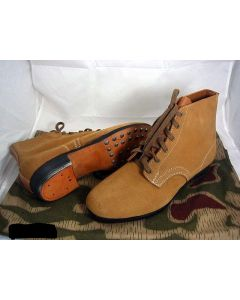 GERMAN TAN LOW BOOTS