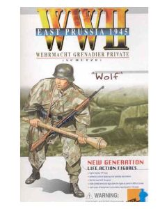WOLF GERMAN DRAGON ACTION FIGURE WW11 WERMACHT GRENADIER