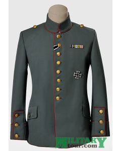 WW1 GERMAN FIELD GRAY M1910 ROYAL PRUSSIAN INFANTRY TUNIC