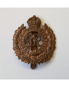 WW2 BRITISH ROYAL ENGINEERS CAP BADGE