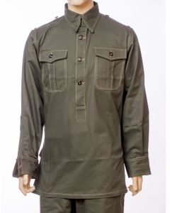 WW2 GERMAN M43 GREY SERVICE SHIRT