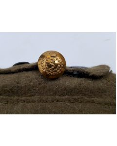 WW2 ROYAL CANADIAN ARMY MEDICAL CORP BRASS BUTTON RCAMC