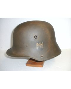 WWI M17 GERMAN ARMY DOUBLE DECAL HEER HELMET