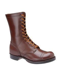 AMERICAN CORCORAN JUMP BOOTS: LEATHER WW2 PARATROOPER