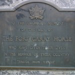 Fort Garry Horse  WWii Winnipeg