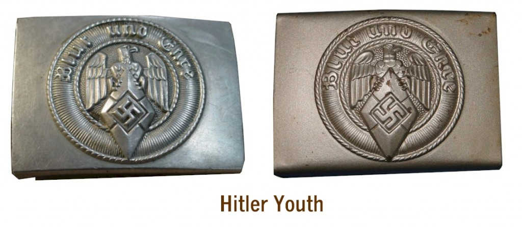 HITLER YOUTH BELT BUCKLES (Koppelschloß)