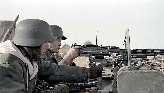 Germans in M1935 Helmets WWII