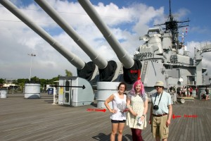 2015 Trip to Pearl Harbor Hawaii