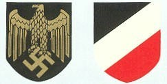 Navy Decal for the German WW2 Helmet