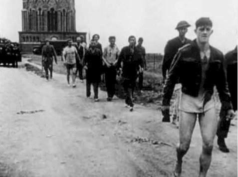 Canadians capture in Dieppe France Disaster