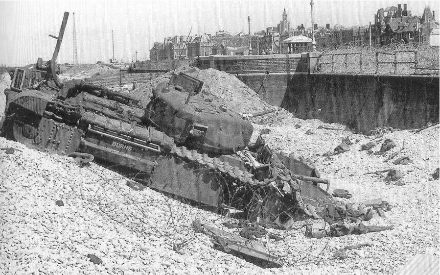 Dieppe France and the Canadians WWII