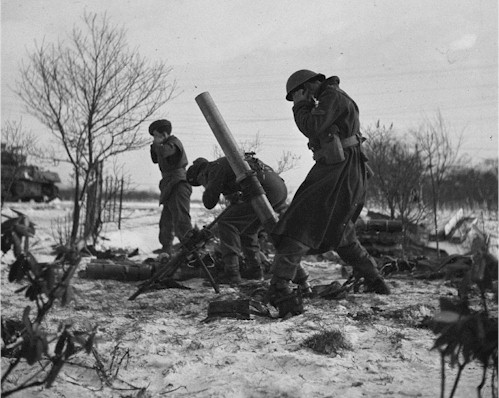 Canadians fighting in Netherlands WWII for the liberation of Europe