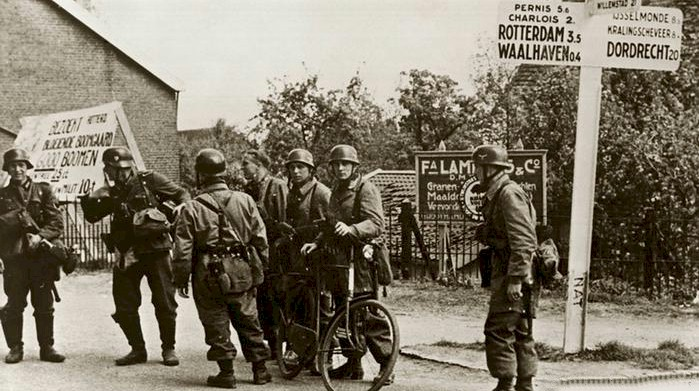 Liberation of Netherlands from Germany WWII by the Canadians and Allies